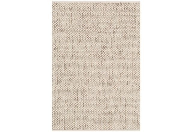 60X90 Rug-Cormac Woven Wool Taupe - 360