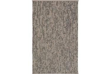 2'x3' Rug-Cormac Woven Wool Cream/Blue