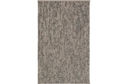 "5'x7'5"" Rug-Cormac Woven Wool Cream/Blue"
