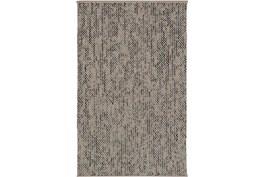 96X120 Rug-Cormac Woven Wool Cream/Blue
