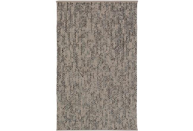 96X120 Rug-Cormac Woven Wool Cream/Blue - 360