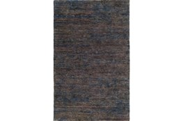 24X36 Rug-Neimon Hand Knotted Jute Navy/Brown