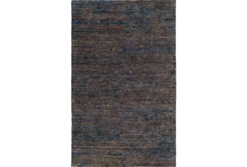 2'x3' Rug-Neimon Hand Knotted Jute Navy/Brown