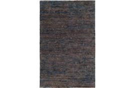 39X63 Rug-Neimon Hand Knotted Jute Navy/Brown