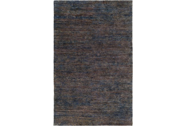 60X90 Rug-Neimon Hand Knotted Jute Navy/Brown - 360