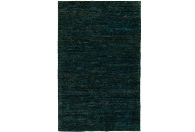24X36 Rug-Neimon Hand Knotted Jute Dark Green - 360