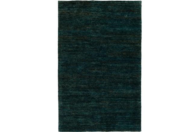 39X63 Rug-Neimon Hand Knotted Jute Dark Green - 360