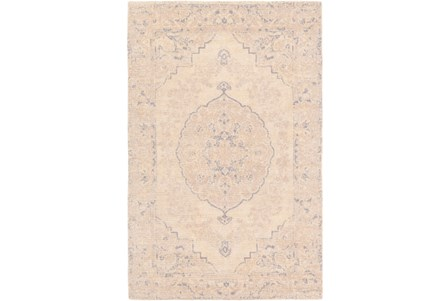 24X36 Rug-Ceire Cream/Denim