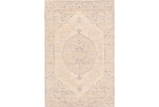 60X90 Rug-Ceire Cream/Denim - 360