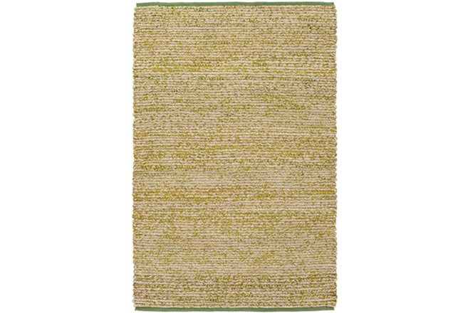 60X90 Rug-Woven Cotton And Seagrass Green - 360