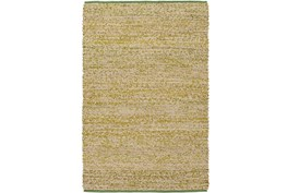 96X120 Rug-Woven Cotton And Seagrass Green