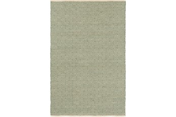 96X120 Rug-Eire Diamond Jute Mint