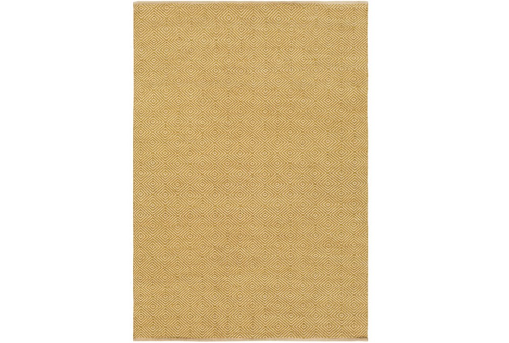 96X120 Rug-Eire Diamond Jute Citron
