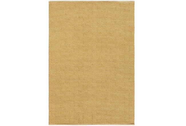 96X120 Rug-Eire Diamond Jute Citron - 360