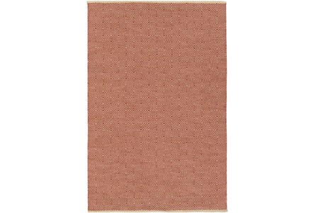 24X36 Rug-Eire Diamond Jute Rust