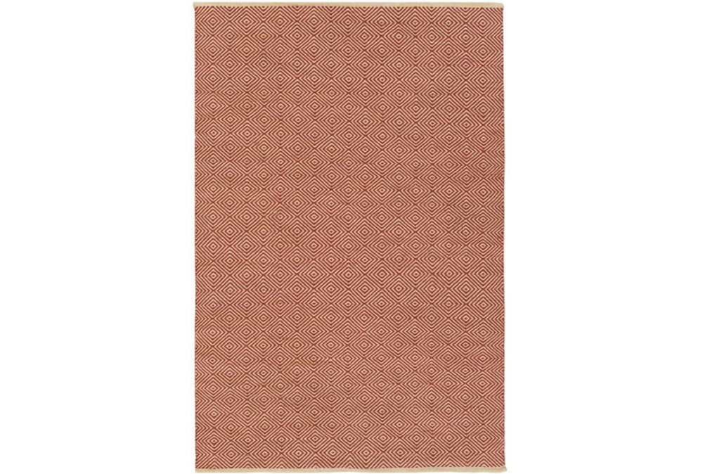 60X90 Rug-Eire Diamond Jute Rust