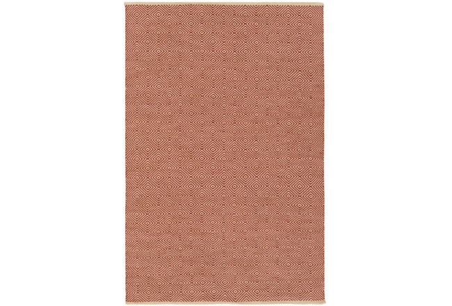 60X90 Rug-Eire Diamond Jute Rust - 360