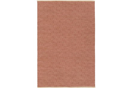 96X120 Rug-Eire Diamond Jute Rust