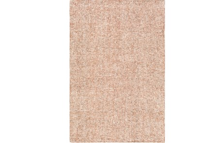 60X90 Rug-Washed Boucle Orange