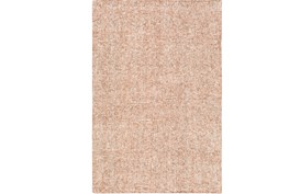 96X120 Rug-Washed Boucle Orange
