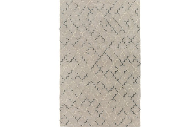 60X90 Rug-Faded Arabesque Blue/Grey - 360