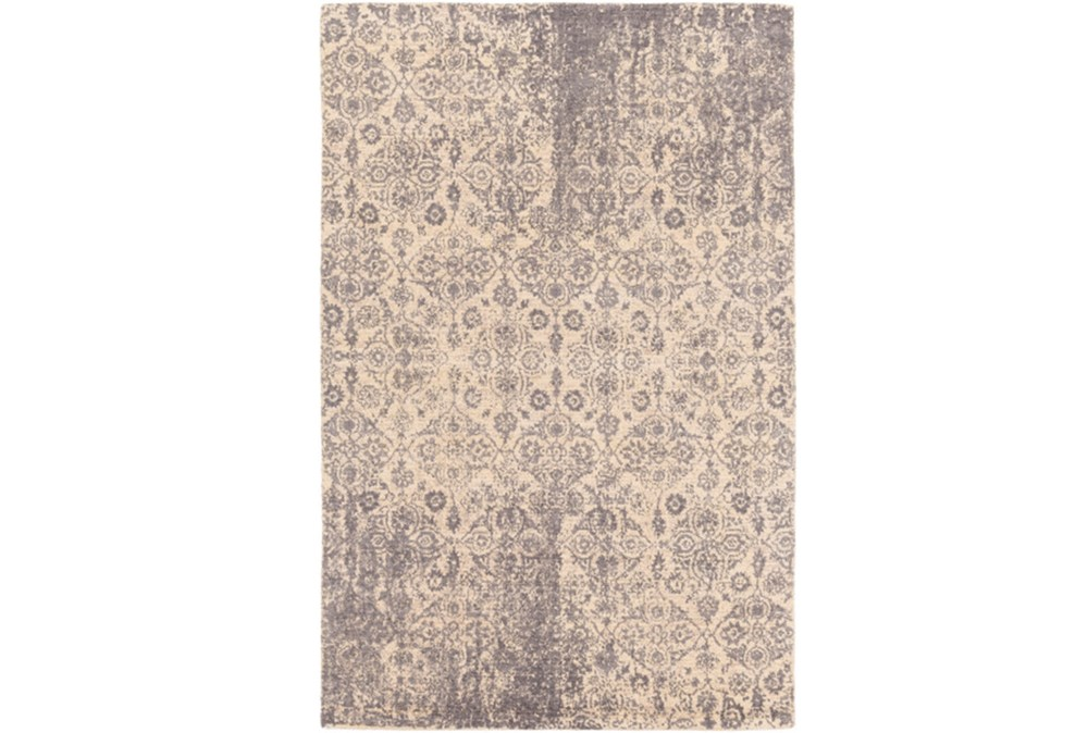 96X120 Rug-Nikita Antique Medium Grey
