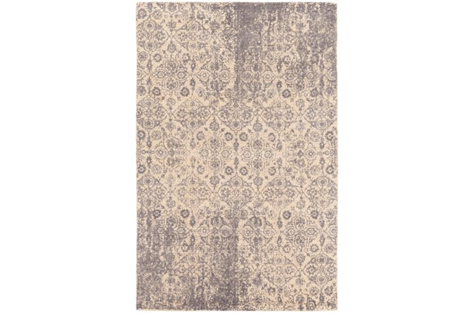 96X120 Rug-Nikita Antique Medium Grey - 360
