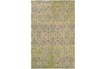 60X90 Rug-Nikita Antique Lime/Denim
