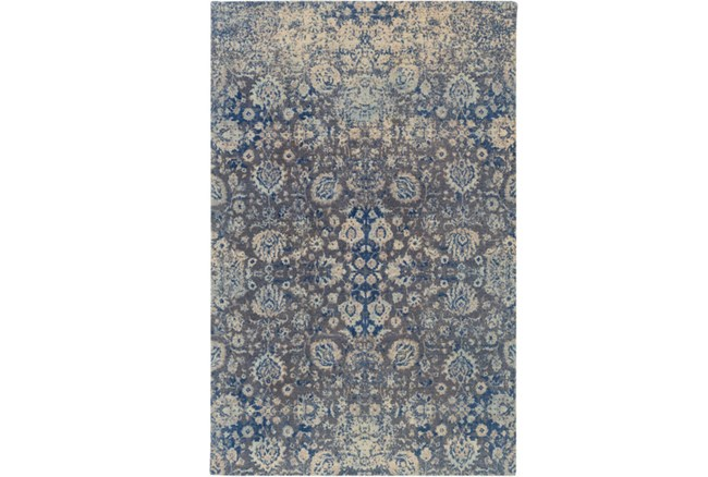 60X90 Rug-Nikita Antique Denim - 360