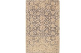 96X120 Rug-Nikita Antique Cream/Light Grey