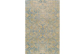 60X90 Rug-Nikita Antique Blue/Yellow