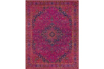24X36 Rug-Ivete Medallion Fuschia/Orange
