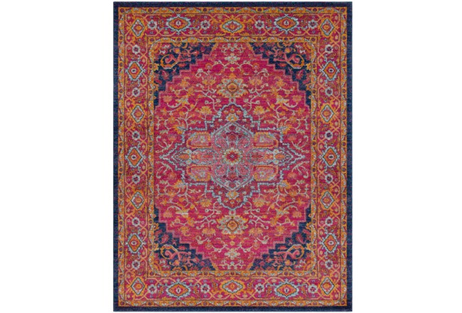 2'x3' Rug-Ivete Medallion Garnet/Orange - 360