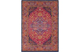 47X67 Rug-Ivete Medallion Garnet/Orange