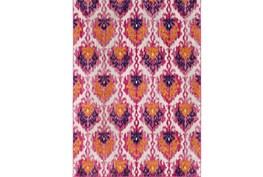 47X67 Rug-Ivete Ikat Garnet/Orange