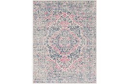 24X36 Rug-Ivete Antique Medallion Garnet/Dark Blue