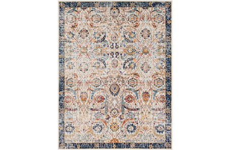 24X36 Rug-Katari Dark Blue/Orange