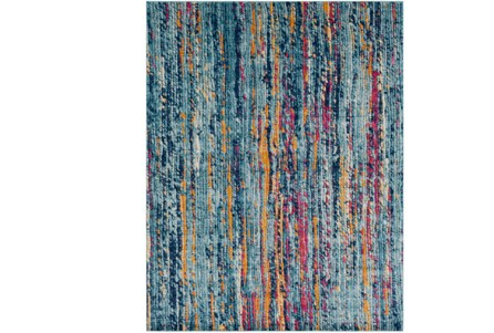 24X36 Rug-Ivete Striations Teal