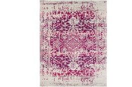 2'x3' Rug-Ivete Antique Medallion Garnet