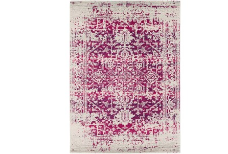 31X87 Rug-Ivete Antique Medallion Garnet