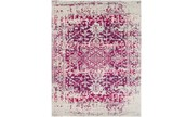 94X123 Rug-Ivete Antique Medallion Garnet - Signature