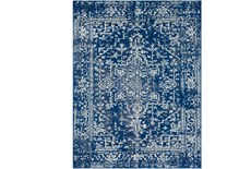 24X36 Rug-Ivete Dark Blue/Teal