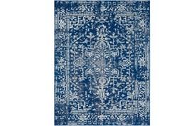 2'x3' Rug-Ivete Dark Blue/Teal
