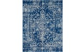 94X123 Rug-Ivete Dark Blue/Teal - Signature