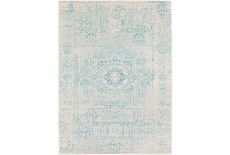 47X67 Rug-Ivete Antique Medallion Teal