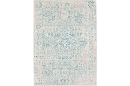 63X87 Rug-Ivete Antique Medallion Teal