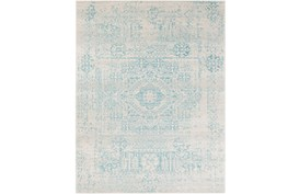 111X150 Rug-Ivete Antique Medallion Teal