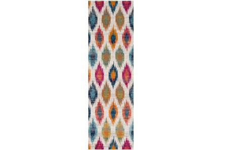 31X87 Rug-Ivete Diamond Multi