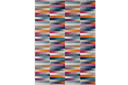 63X87 Rug-Ivete Color Block Multi