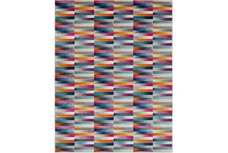 94X123 Rug-Ivete Color Block Multi